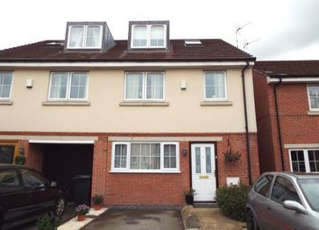 Thumbnail 4 bedroom terraced house for sale in Woodleigh Close, Leicester, Leicestershire, England