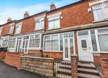 Thumbnail 3 bedroom terraced house for sale in Ashbourne Road, Edgbaston, Birmingham