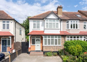 Thumbnail 3 bedroom end terrace house for sale in Braemar Road, Worcester Park