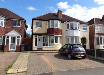 Thumbnail 3 bed semi-detached house for sale in Partridge Road, Yardley, Birmingham