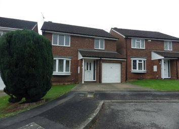Thumbnail 4 bedroom detached house to rent in Tyburn Close, Swindon, Wiltshire