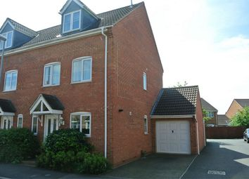 Thumbnail 4 bed semi-detached house for sale in Delaine Close, Bourne, Lincolnshire