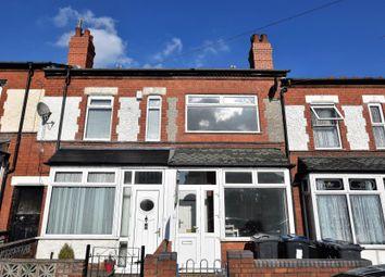 Thumbnail 2 bedroom terraced house for sale in Westminster Road, Selly Oak, Birmingham