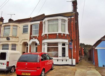 Thumbnail 3 bedroom flat to rent in Thoroughgood Road, Clacton-On-Sea