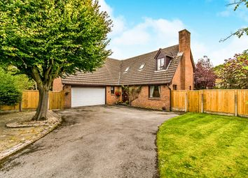 Thumbnail 4 bed detached house for sale in Sefton Drive, Wilmslow