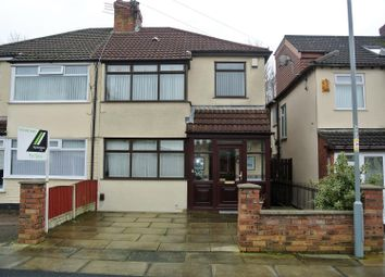 Thumbnail 3 bed semi-detached house for sale in Malvern Avenue, Liverpool