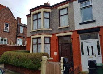 Thumbnail 3 bed end terrace house for sale in Daffodil Road, Birkenhead