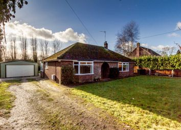Thumbnail 4 bed detached bungalow for sale in School Road, Necton, Swaffham