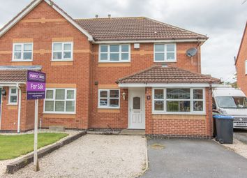 Thumbnail 3 bed semi-detached house for sale in Pickering Road, Broughton Astley