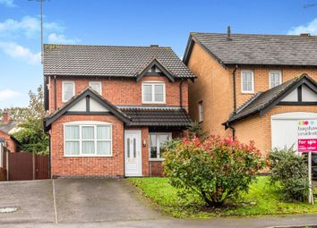 Thumbnail Detached house for sale in Oriole Close, Uttoxeter