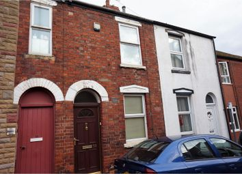 Thumbnail 2 bed terraced house for sale in St. Hugh Street, Lincoln