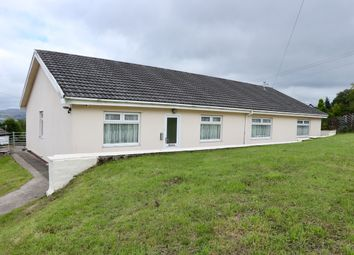 Thumbnail 4 bed detached bungalow for sale in Maes Meyrick, Heolgerrig, Merthyr Tydfil