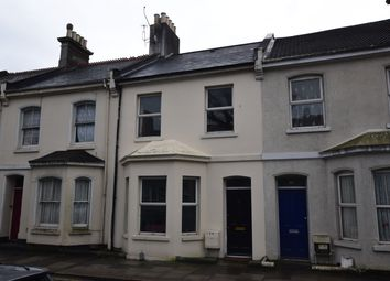 Thumbnail 5 bed terraced house for sale in Wilton Street, Stoke, Plymouth