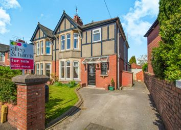 Thumbnail 3 bedroom semi-detached house for sale in St. Marys Road, Whitchurch, Cardiff