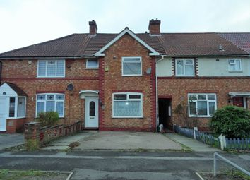 Thumbnail 3 bed terraced house to rent in Pitmaston Road, Hall Green, Birmingham