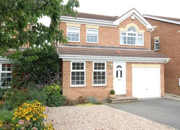 Thumbnail 4 bed detached house for sale in Westerdale, Worksop