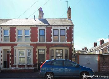Thumbnail 2 bed end terrace house to rent in Florence Street, Splott, Cardiff