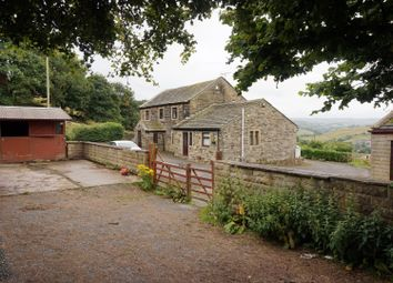 Thumbnail 4 bed detached house for sale in Hainworth Lane, Keighley