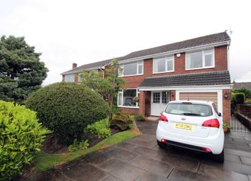 Thumbnail 4 bed detached house for sale in Ashbank Avenue, Bolton