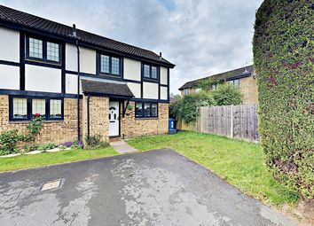 Thumbnail 2 bed end terrace house to rent in Morley Close, Yateley, Hampshire