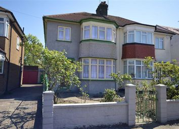 Thumbnail 3 bed semi-detached house for sale in First Avenue, Wembly, Middx