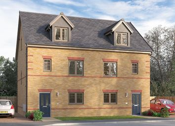 "Thumbnail 4 bed semi-detached house for sale in ""The Weybridge"" at Ward Road, Clipstone Village, Mansfield"