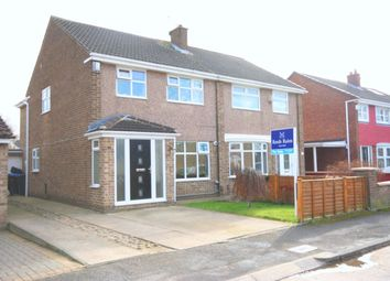 Thumbnail 3 bedroom semi-detached house for sale in Swainston Close, Acklam, Middlesbrough