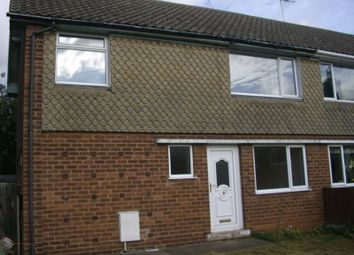 Thumbnail 3 bed property to rent in Valley Road, Shirebrook, Mansfield