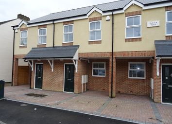 Thumbnail 3 bed terraced house for sale in Dudrich Villas, Trinity Road, Gillingham, Kent.