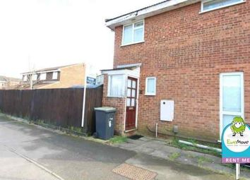 Thumbnail 1 bed maisonette to rent in Dunsmore Road, Luton