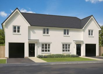 "Thumbnail 3 bed semi-detached house for sale in ""Ravenscraig"" at Mey Avenue, Inverness"