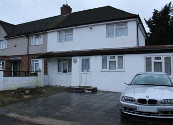Thumbnail 3 bed semi-detached house to rent in West Road, West Drayton
