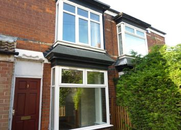 Thumbnail 2 bedroom terraced house to rent in Cardigan Avenue, Hull