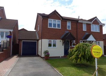 Thumbnail 3 bed semi-detached house for sale in Summerhouse Lane, Thornwell, Chepstow