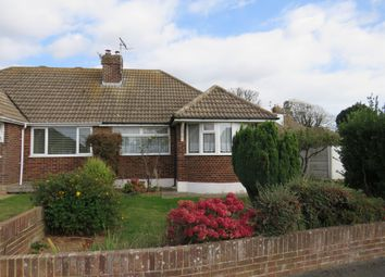 Thumbnail 2 bed semi-detached bungalow for sale in Sandgate Close, Seaford