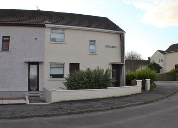 Thumbnail 2 bed end terrace house for sale in 8 Mossgiel Place, Stevenston