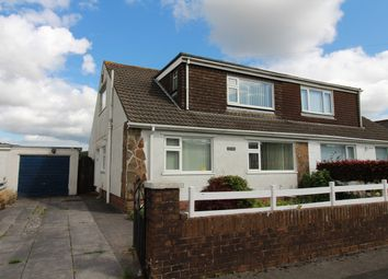 Thumbnail 3 bed semi-detached bungalow for sale in Maesglas, Tredegar