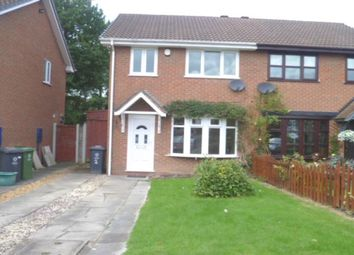 Thumbnail 3 bed semi-detached house to rent in Fowler Close, Perton, Wolverhampton