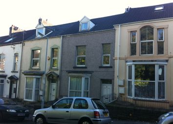 Thumbnail 3 bed shared accommodation to rent in Devon Terrace, Ffynone Road, Uplands, Swansea