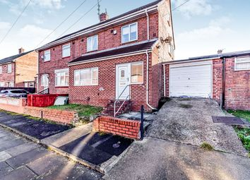Thumbnail 3 bed semi-detached house for sale in Portchester Road, Pennywell, Sunderland