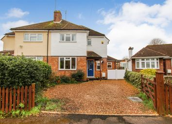 Thumbnail 3 bed semi-detached house for sale in Ashburnham Crescent, Leighton Buzzard