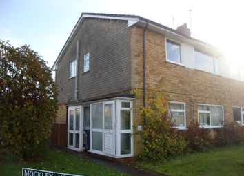 Thumbnail 2 bed maisonette to rent in Mockley Wood Road, Knowle, Solihul