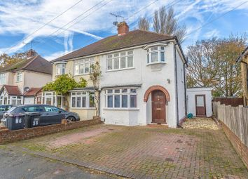 Thumbnail 3 bed semi-detached house for sale in The Crossways, Old Coulsdon, Coulsdon