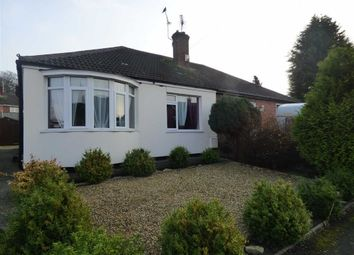 Thumbnail 2 bed bungalow for sale in Mayflower Close, Gainsborough