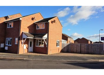 Thumbnail 3 bed end terrace house for sale in Forest Gate, Evesham