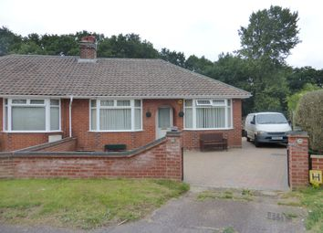 Thumbnail 2 bed semi-detached bungalow for sale in Hercules Close, Hellesdon, Norwich