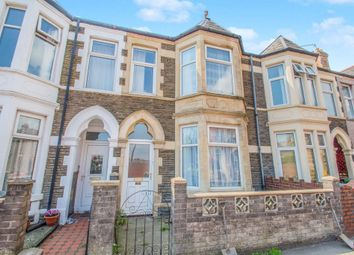 Thumbnail 4 bed terraced house for sale in Lansdowne Road, Canton, Cardiff