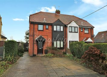 Thumbnail 3 bed semi-detached house for sale in Kiln Cottages, Crown Street, Dedham, Colchester