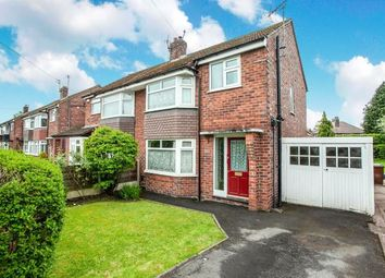 Thumbnail 3 bed semi-detached house for sale in Pingate Lane, Cheadle Hulme, Cheadle, Greater Manchester