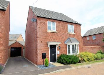 Thumbnail 4 bedroom detached house for sale in Wensleydale Crescent, Oakridge Park, Milton Keynes